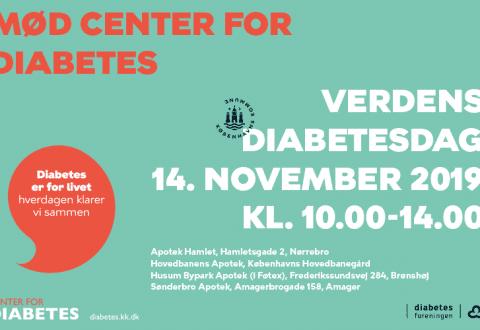 Mød Center for Diabetes på Verdens Diabetesdag