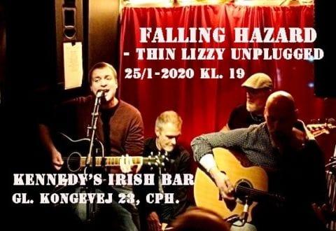 PR-Foto: Falling Hazard Thin Lizzy unplugged: Falling Hazard